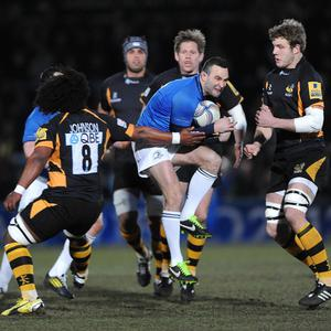 Wasps were largely outclassed by a more-experienced Leinster outfit
