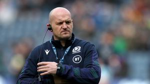 Scotland head coach Gregor Townsend has made three changes to his side to face Wales (Jane Barlow/PA)