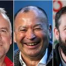 Wayne Pivac, Andy Farrell and Eddie Jones are eyeing Six Nations glory (Bradley Collyer/Brian Lawless/Steven Paston/PA)