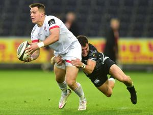 Key role: James Hume is now an Ulster regular and hoping for a vastly different outcome against Munster tomorrow