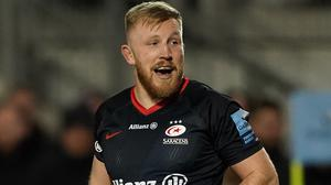 Jackson Wray is staying at Saracens (Tess Derry/PA)