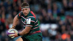 Tom Youngs and his Leicester team-mates began group training sessions last week (Mike Egerton/PA).