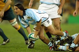 Agustin Pichot won 71 caps for Argentina (David Davies/PA)