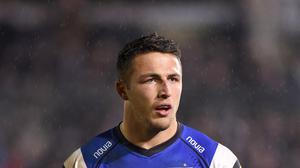 Sam Burgess is set to make his first Bath start on Friday