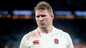 England captain Dylan Hartley is an injury doubt for the France match