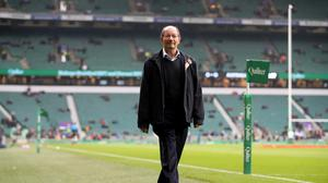Ian Robertson commentated for the final time after a 47-year career at the BBC on England's win over Australia (Adam Davy/PA).