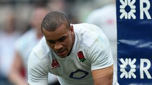 Jonathan Joseph scored three of England's tries against Italy
