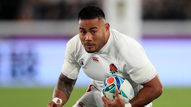 Manu Tuilagi feels for the Saracens players in the England squad. (Adam Davy/PA)