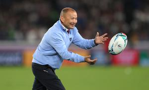 Eddie Jones, pictured, is already plotting how to steer England towards glory at Rugby World Cup 2023 (David Davies/PA)