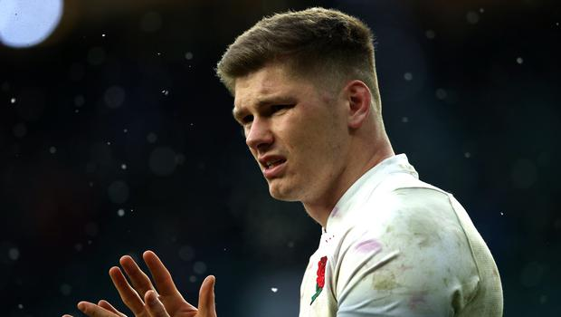 Owen Farrell (pictured) can inspire by fear, according to England head coach Eddie Jones