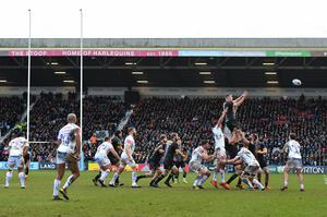 The Twickenham Stoop will host the first Gallagher Premiership match since the sport was suspended when Harlequins face Sale on August 14 (Ashley Western/PA)