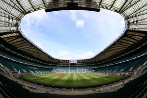 England's match with Georgia is to be played behind closed doors at Twickenham (Nigel French/PA)
