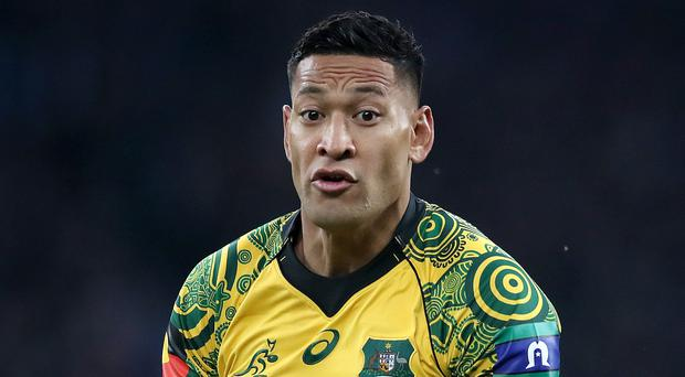 Israel Folau may be barred from playing rugby league for Tonga (Adam Davy/PA)