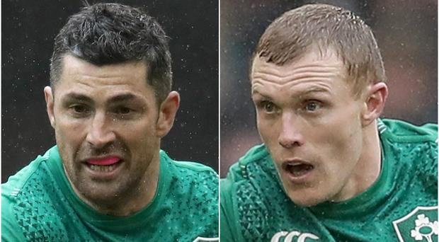 Rob Kearney and Keith Earls have been passed for Ireland's World Cup opener (Adam Davy/PA)