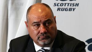 Scottish Rugby chief executive Mark Dodson (Lynne Cameron/PA)
