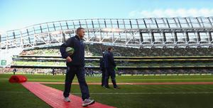 Right direction: Joe Schmidt is doing things his way in Dublin