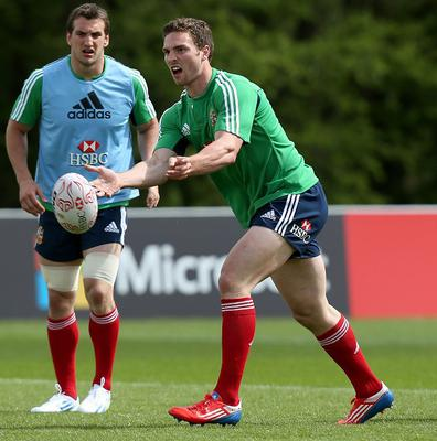 George North is expecting a tough test against Australia