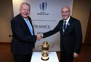 Beaumont is in favour of a Club World Cup, as per the assertion of Bernard Laporte, right, but not on annual basis (Dave Rogers/PA)