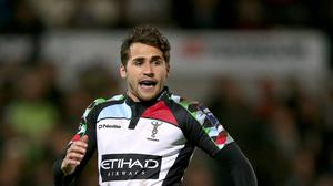 Ollie Lindsay-Hague touched down for Harlequins