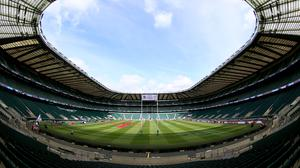 Twickenham is ready to welcome back fans (Nigel French/PA)