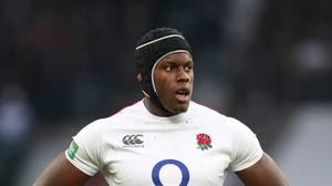 England's Maro Itoje suffered an apparent setback (Adam Davy/PA)