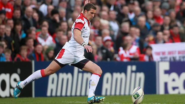 Ruan Pienaar scored 16 points with the boot for Ulster