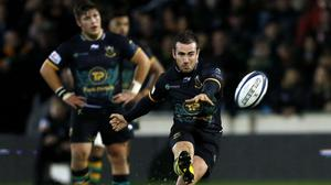 JJ Hanrahan, pictured, hopes his move to Northampton can boost his Test chances with Ireland