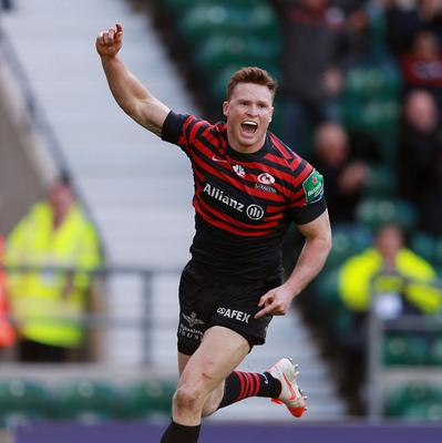 Chris Ashton's form for Saracens could earn him an England recall.