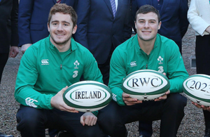 Eager: Paddy Jackson wants minutes on the pitch