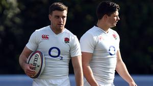 George Ford, left, and Ben Youngs (Andrew Matthews/PA)