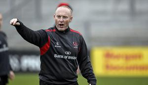 Challenging times ahead: Ulster coach Neil Doak