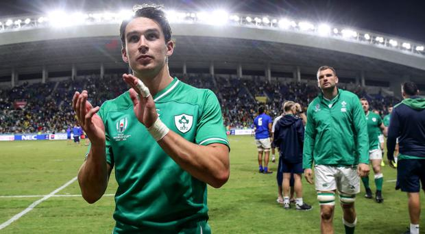 Ruled out: Joey Carbery is injured yet again