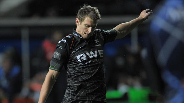 Dan Biggar was the star for Ospreys