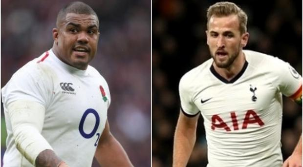 Kyle Sinckler is using dietary tips from Harry Kane (PA)