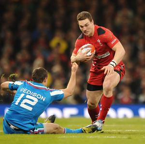George North is looking for a stronger Wales display against Ireland