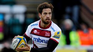 Danny Cipriani grabbed the first try in Sale's victory