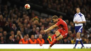 Wales' Leigh Halfpenny is aiming to defeat New Zealand