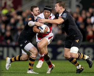 Christian Leali'ifano will play his final match for Ulster against Wasps this weekend.