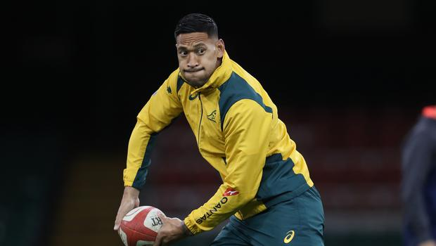 Israel Folau has been sacked by Rugby Australia (David Davies/PA)