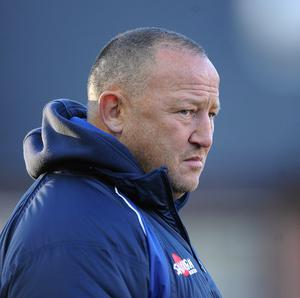 Sale Sharks director of rugby Steve Diamond, pictured, is delighted with the signing of Darren Fearn