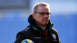 London Irish are expected to make an announcement concerning rugby director Brian Smith