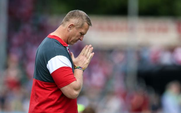 Johan Ackermann is moving on (Paul Harding/PA)