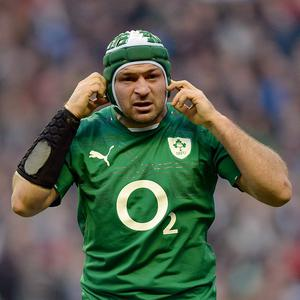 Rory Best is set to miss at least six weeks of action with Ulster thanks to an ankle injury