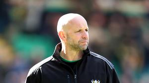 Northampton head coach Jim Mallinder has conceded his side's play-off hopes have gone
