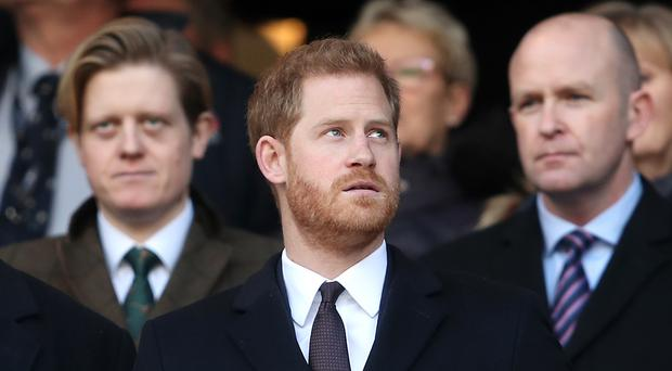 The Duke of Sussex has sent a message of support to the England side (David Davies/PA)