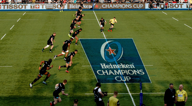 Huge test: Saracens have lost just once in Europe at Allianz Park