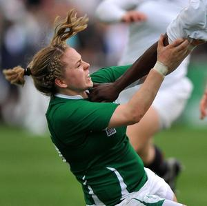Niamh Briggs kicked two penalties as Ireland claimed their first RBS 6 Nations Grand Slam