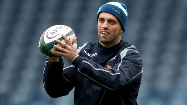 Adam Hastings is set to replace Finn Russell (Jane Barlow/PA)
