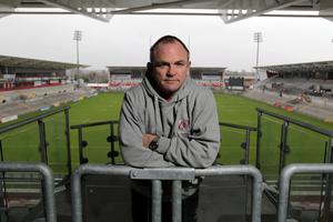 Parting company: Mark Anscombe has left Ulster