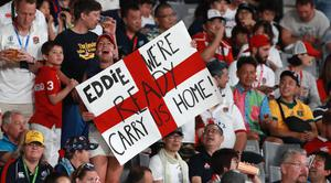Full backing: England fans are often heard to sing 'Swing Low' in a bid to support their side